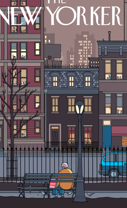 Chris Ware's Thanksgiving Cover for the New Yorker